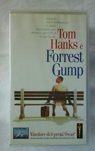 TOM HANKS È FORREST GUMP COFANETTO 2 VIDEOCASSETTE VHS 1995 - Italia - TOM HANKS È FORREST GUMP COFANETTO 2 VIDEOCASSETTE VHS 1995 - Italia