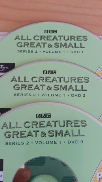 All Creatures Great And Small : Series 2  6-Disc Set) Region 2 UK