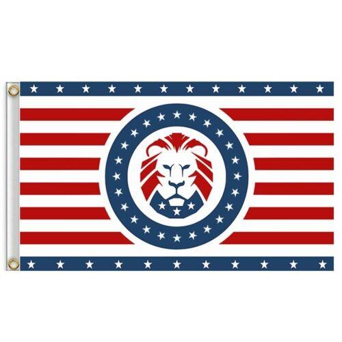 Trump Lion KEEP AMERICA GREAT 2020 Flag 3 x 5 FT 90 x 150 cm USA 2020 Election