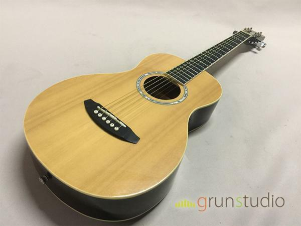 Lumber L100MNA mini acoustic guitar beutiful JAPAN rare useful EMS F S