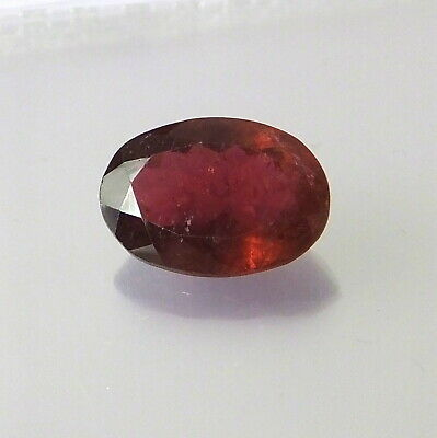 Pink Green Watermelon Tourmaline Faceted Gemstone with Free Shipping Free Returns 6 carats
