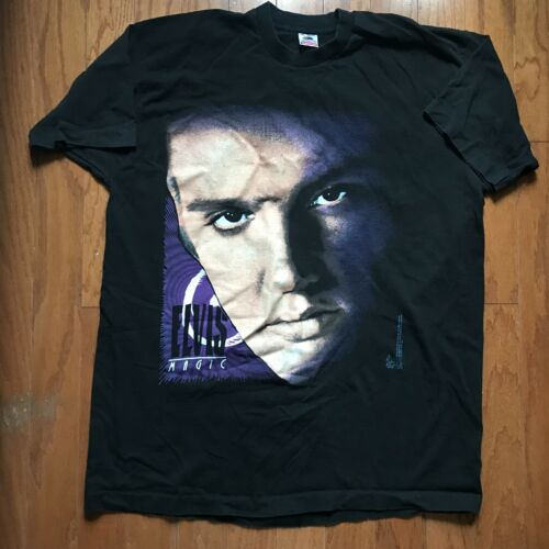 Elvis Presley Magic VTG 90s Mens 2XL XXL Shirt Pho