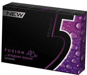 Wrigley-039-s-5-gum-Fusion-10-Packs-120-Stripes