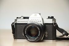 Pentax  SPF -Spotmatic F with Pentax smc 50mm f:1,4 lens