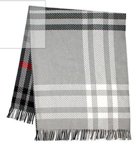 Tartan Superfine Wool Throw | Lochcarron | Made in Scotland | Luxury Blanket