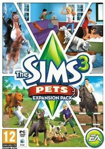 The-Sims-3-Pets-Expansion-Original-USED-PC-MAC-Game-DVD