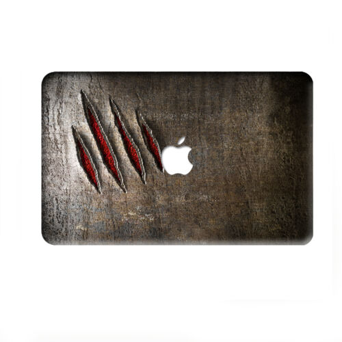 """3D Pattern Painted Hard Laptop Logo Cut Case Cover for Macbook Pro13/""""15/""""Air11 12"""
