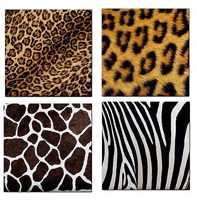 NEW Animal Leopard Giraffe Zebra Ceramic Wall Tile / Feature Wall Tile / Bath