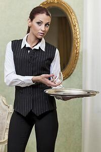 Gilet Panciotto Donna Lavoro Business Elegante Cameriera Bar ... 23e74c643e03
