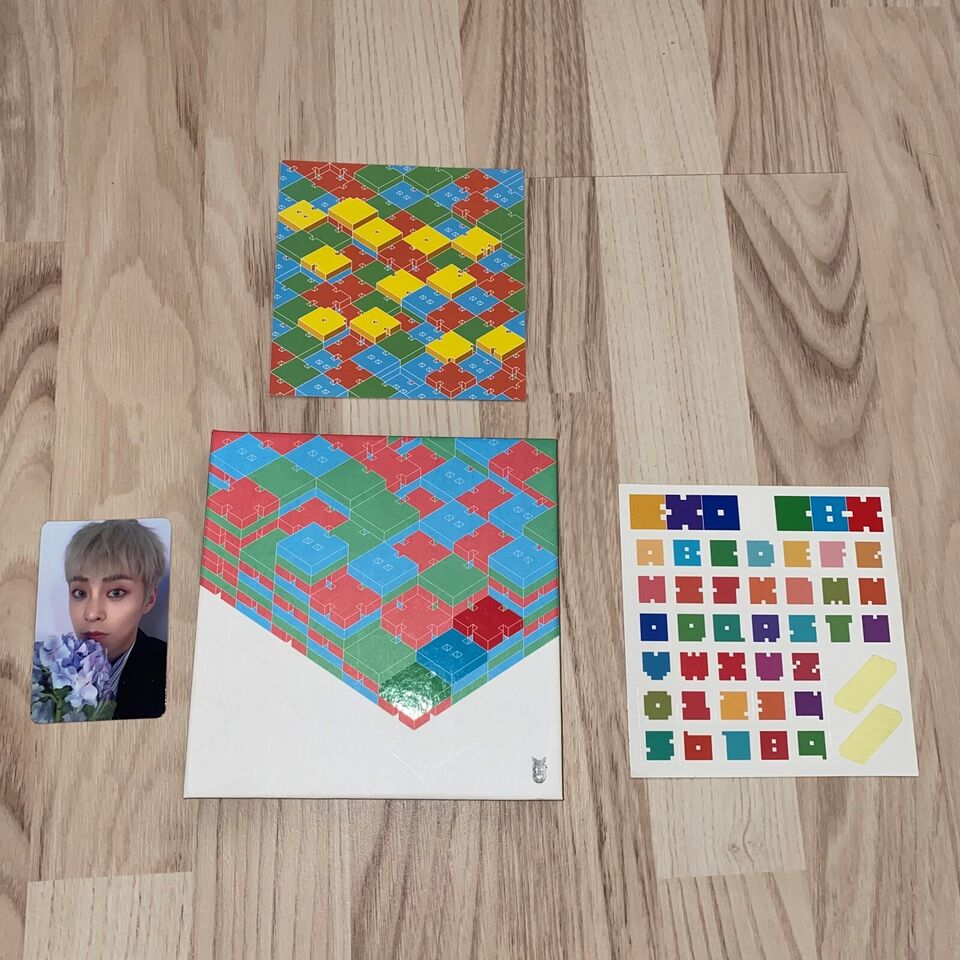 EXO CBX: Blooming Days The 2nd Mini Album, pop