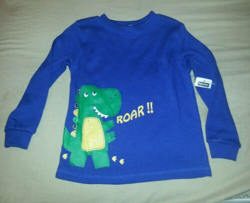 """NWT INFANT BABY BOY 2 PIECE FISHER PRICE BLUE /& GRAY DINOSAUR OUTFIT /""""ROAR/"""""""