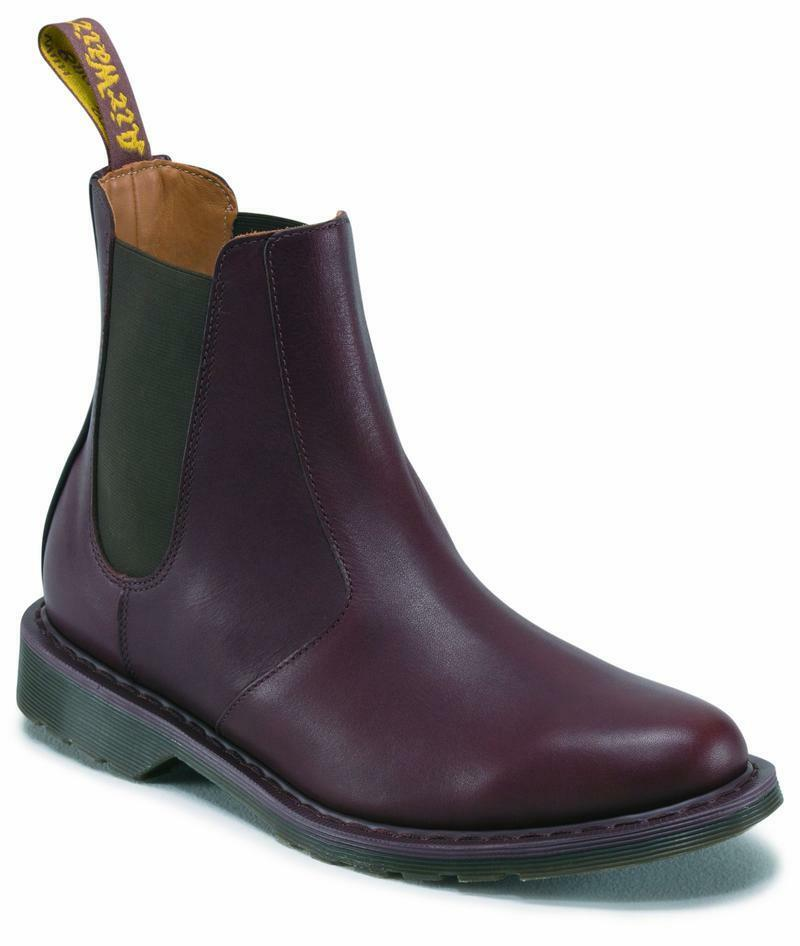 Dr Martens Slip on Victor Dark Brown Greasy 15689201 Original Doc