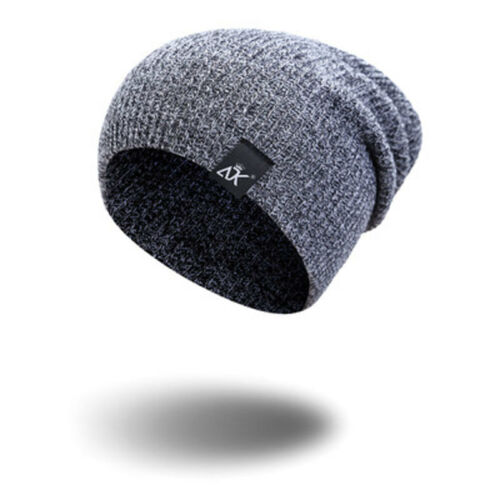 Autum Womens Mens  Knit Ski Cap Outfit Warm Wool Stretch Hat Sport Cap