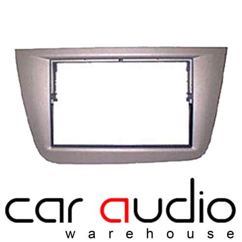 Seat Altea XL 04-15 Car Stereo Double Din RHD Silver Fascia Panel Plate CT24ST03
