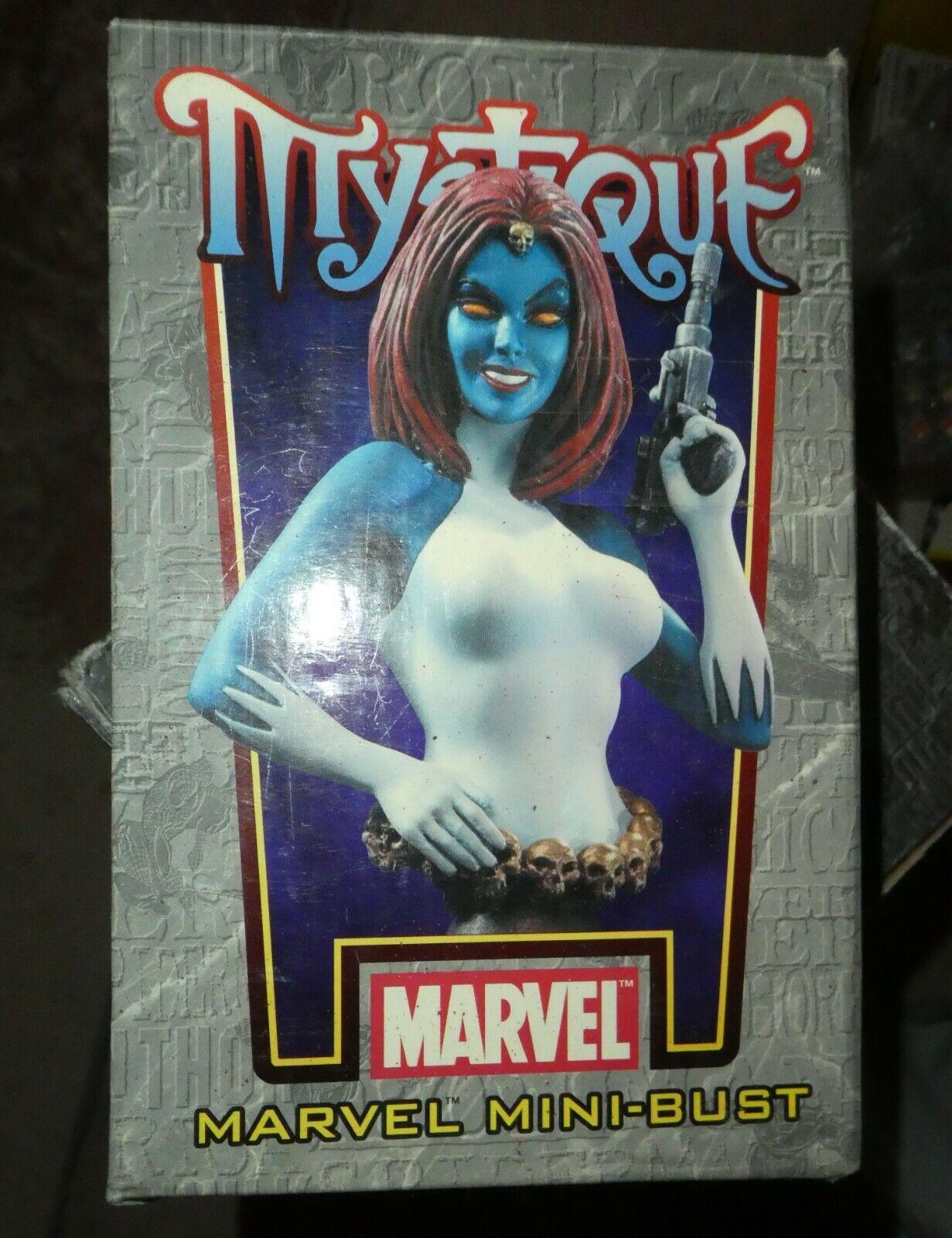 Bowen Marvel Mystique hombres Busto Comic Figura En Caja Edición Limitada 3000 Magneto