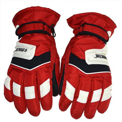 Waterproof Winter Ski Warm Gloves Motorcycle Driving Full Finger Cotton