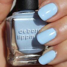 NEW! Deborah Lippmann BLUE ORCHID Polish Lacquer - full size Baby Blue Creme