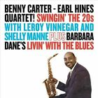 Swingin' the 20s/Livin' with the Blues by Earl Hines Quartet/Benny Carter (Sax)/Earl Hines (CD, Sep-2011, Essential Jazz Classics)