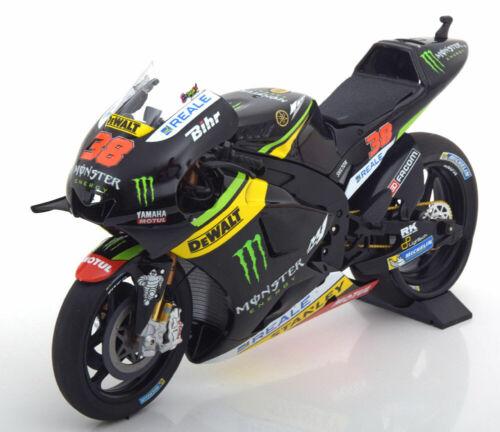 1:12 Minichamps yamaha yzr-m1 moto gp Smith 2016 monstruos