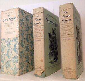 The-Faerie-Queene-by-Edmund-Spenser-Limited-Editions-Club-1953-384-Illus-Signed