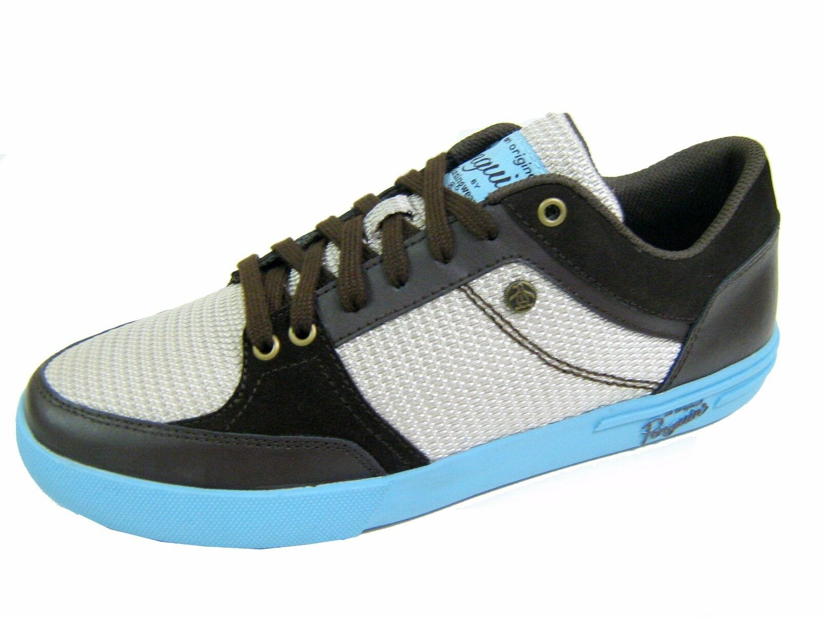 Original Penguin Men's shoes Boomer Fashion Sneakers Milky bluee Size 9