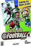 BACKYARD FOOTBALL 2002 (Apple, 2001) - 7 YEARS AND UP - NEW IN COLLECTOR'S BOX
