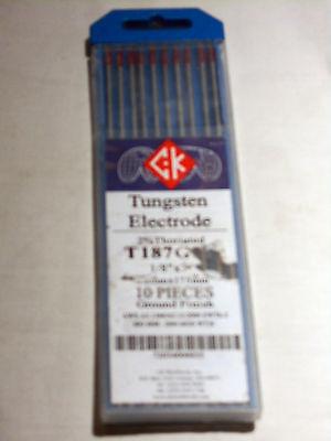 """Ck Worldwide T3327G 3//32/""""x7/"""" 10 Piece Pure Tungsten Welding"""