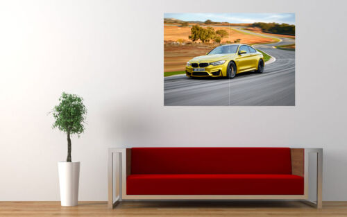 "2015 BMW M4 COUPE NEW GIANT LARGE ART PRINT POSTER PICTURE WALL 33.1/""x23.4/"""