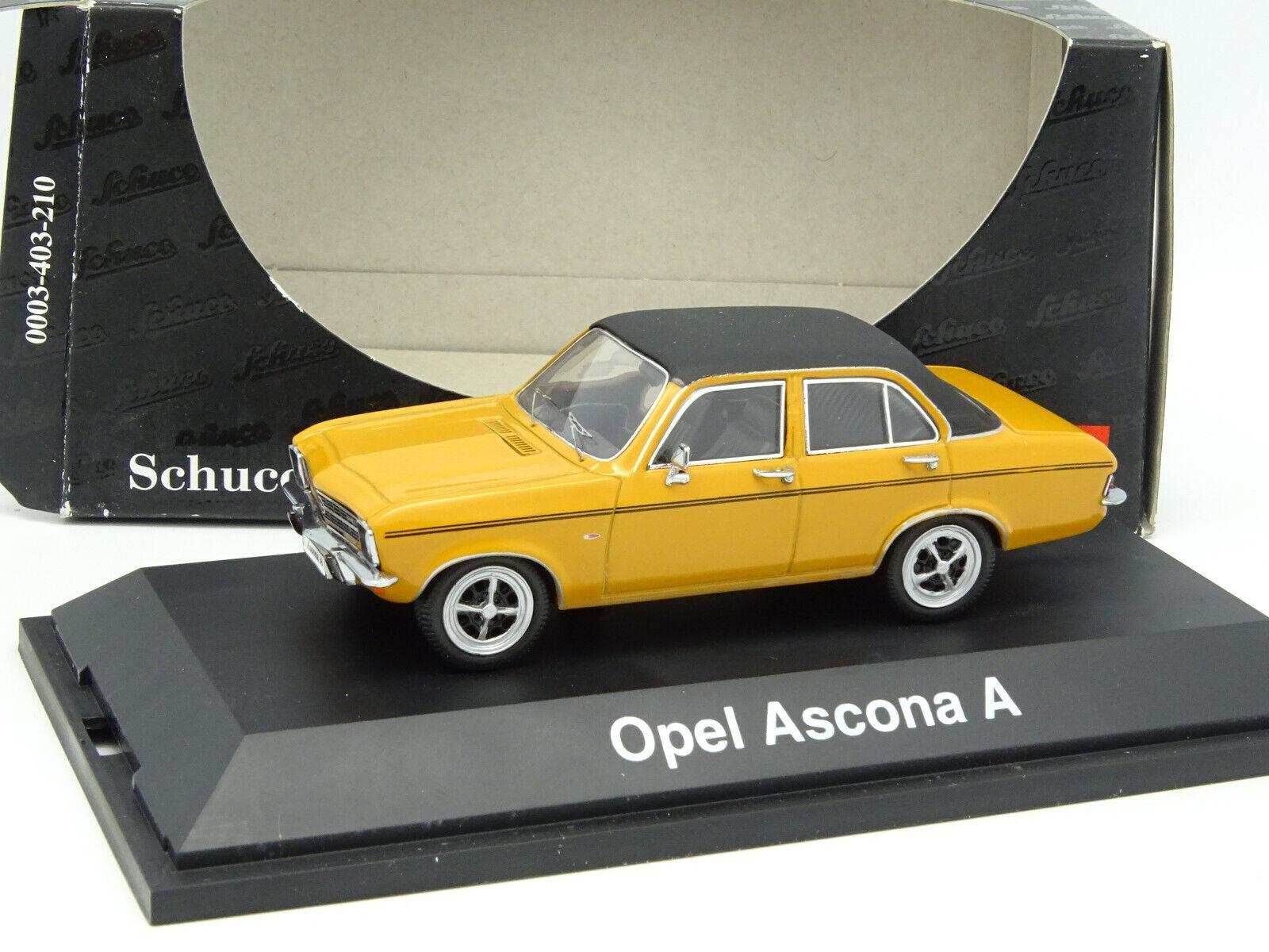 Schuco 1 43 - Opel Ascona A orange