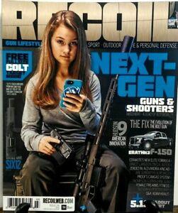RECOIL, gun lifestyle magazine issue #29 2017 Guns & Shooters