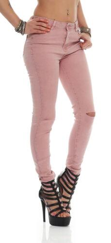 11026 Jeans Donna Skinny Pantaloni Pants Pantaloni Donna Jeans Skinny 7 colori