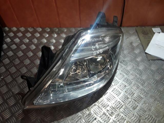 Citroen C8 2005 Diesel Left front Front headlight headlamp 89006371 0kW MAU3753