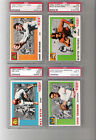 (93) 1955 Topps All-American Cards PSA 7-Different-Near set/lot(4)PSA 9
