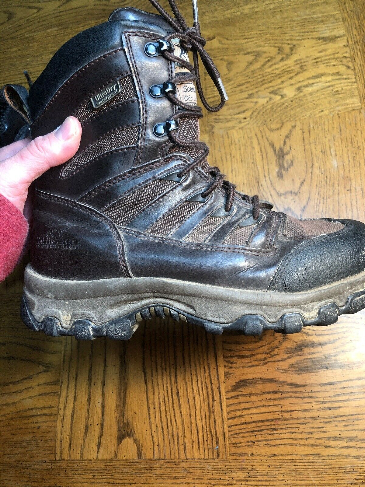 Red Wing shoes Irish Setter Boots Thinsulate 600 Gram Scent Ban Women's 7.5 M