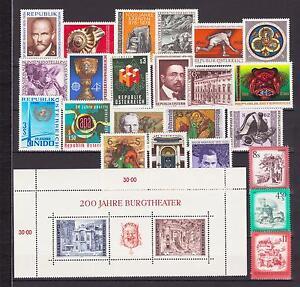 ÖSTERREICH AUSGABEN 1976 feinst Postfrisch - Eggenburg, Österreich - ÖSTERREICH AUSGABEN 1976 feinst Postfrisch - Eggenburg, Österreich