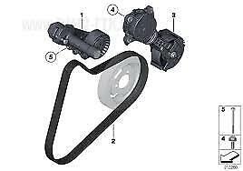 Alternator Water Pump Belt Genuine Mini R56 Cooper, S, JCW 11287604014 6K895