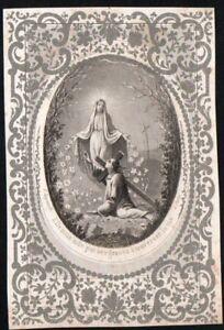 Image pieuse ancianne grabado de la Virgin santino holy card andachtsbild FbY4QEAv-09113558-754937002