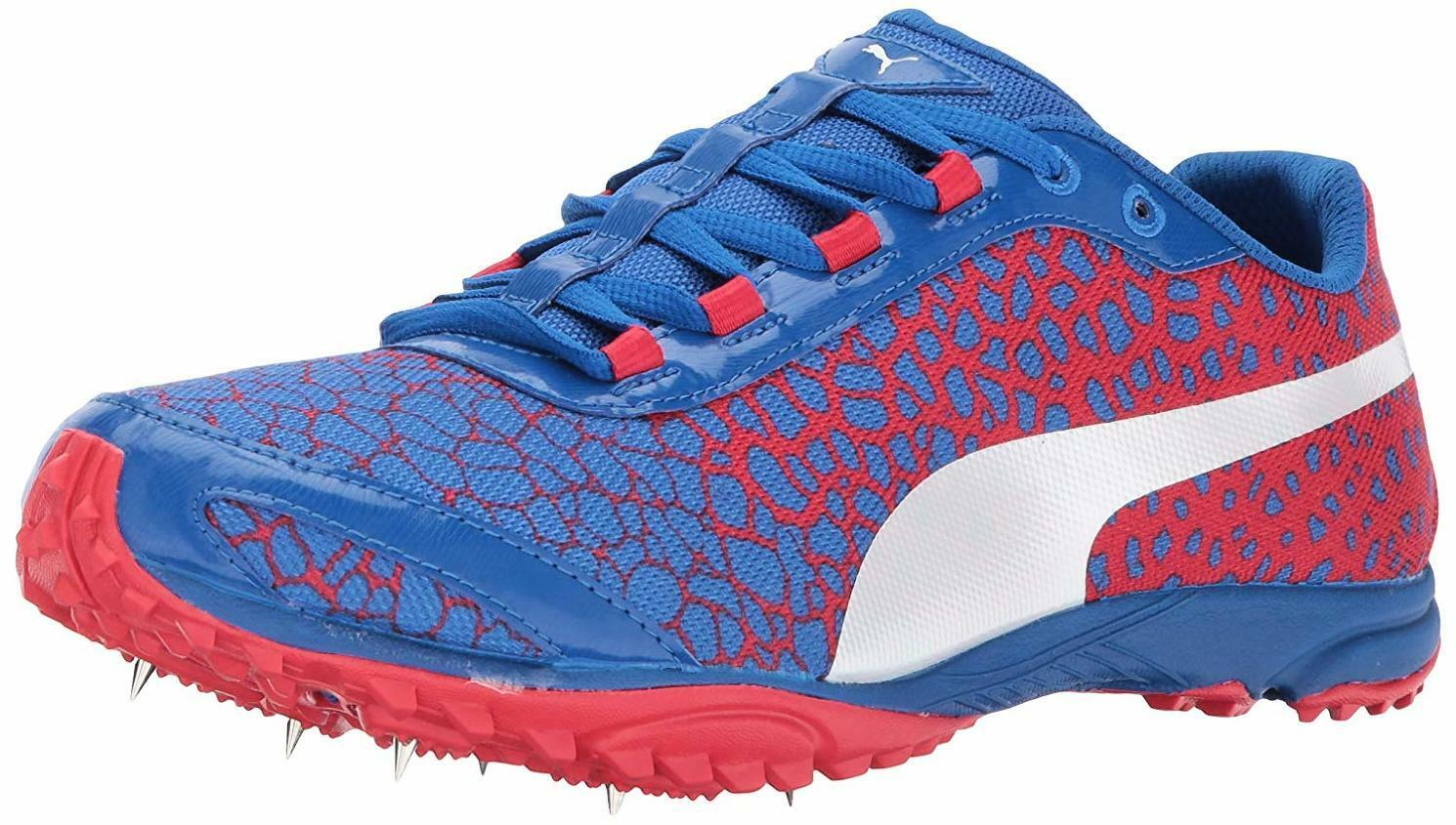 PUMA Men's Evospeed Haraka 4 Track-shoes, Lapis bluee-Toreador, 9.5 M US