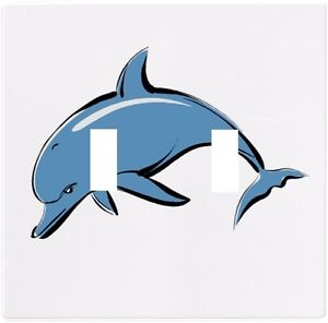 Details about Dolphin Nautical Wallplate Wall Plate Decorative Light Switch  Plate Cover