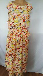 Chaus-New-York-dress-floral-size-12-regular
