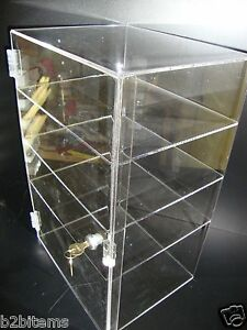 DSAcrylic-Countertop-Display-12-x-7-034-x-19-034-Locking-Security-Showcase-CUPCAKE