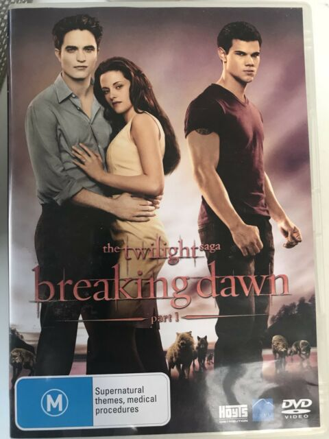 THE TWILIGHT SAGA BREAKING DAWN - PART 1 - DVD R 4