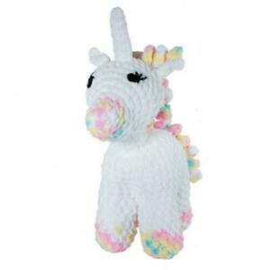 Sophia-Unicorn-Knitty-Critters-DIY-Crochet-Kit-300g-Bernat-Blanket-Yarn