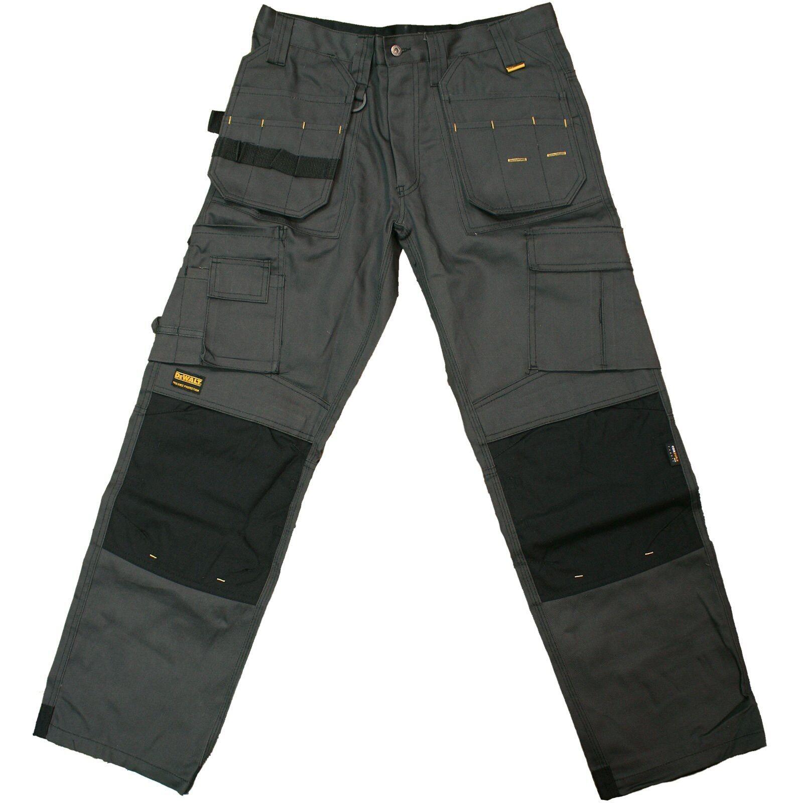 Dewalt PRO TRADESMAN grau 34 33 Trousers, 34 Waist/33 Length, Grau