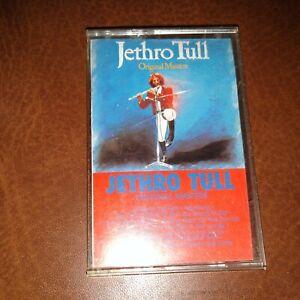 "JETHRO TULL - CASSETTE TAPE (1985) ""ORIGINAL MASTERS"" CHRYSALIS F4 21515"