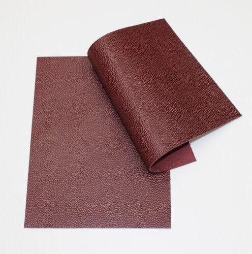 Cuero del zurriago buey sangre Guijarro 2 de 20cm X 15cm 1.6-1.8 mm de espesor