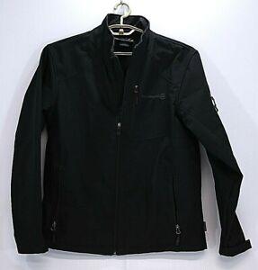 Free-Country-Men-039-s-Full-Zip-Black-Jacket-Size-Medium