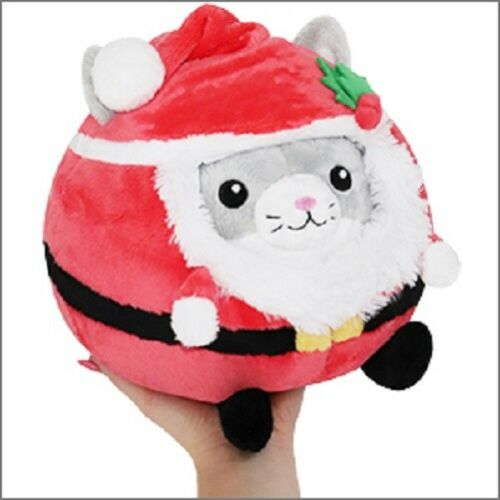Squishable Mini Undercover Kitty in Santa Suit 7 inch Plush