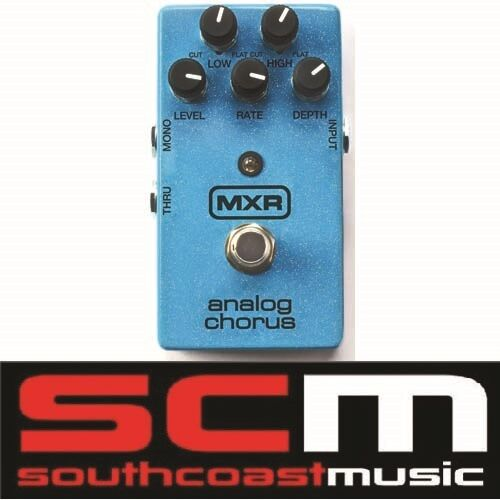 MXR ANALOG CHORUS ELECTRIC GUITAR EFFECTS FX PEDAL BUCKET BRIGADE CIRCUITRY M234