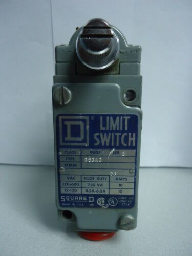 New Square D 9007 B53A2 Limit Switch 600 Volts 10 Amp Series B